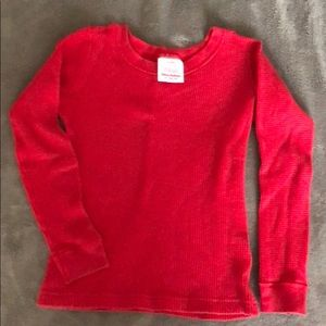 Hannah Andersson Red Pajama Top